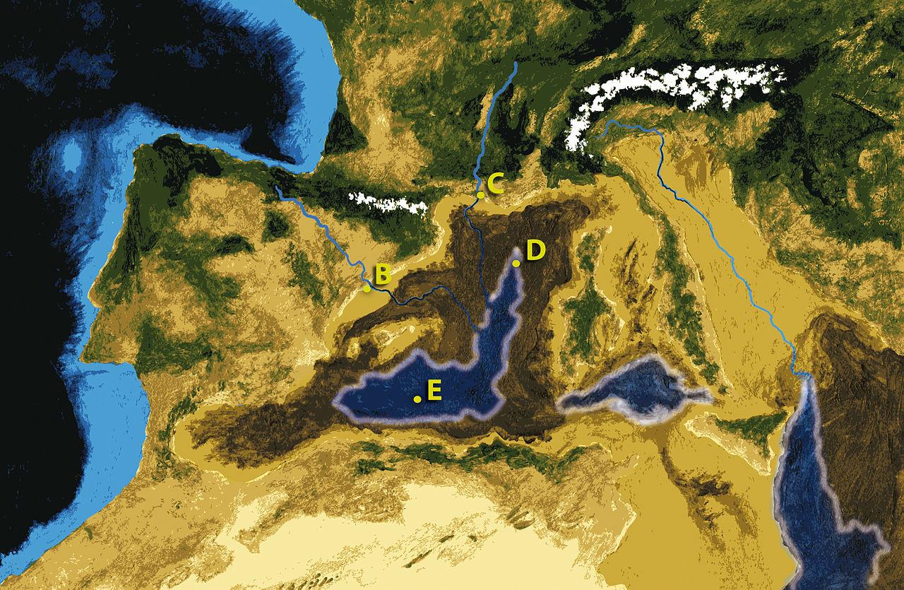 La desecación del Mediterráneo al final del Mioceno ...